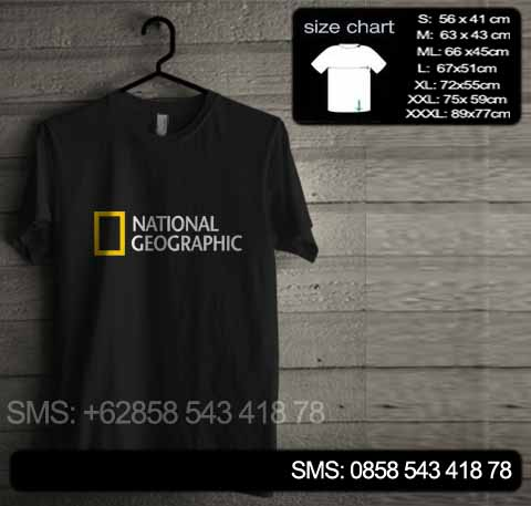 baju kaos national geographic