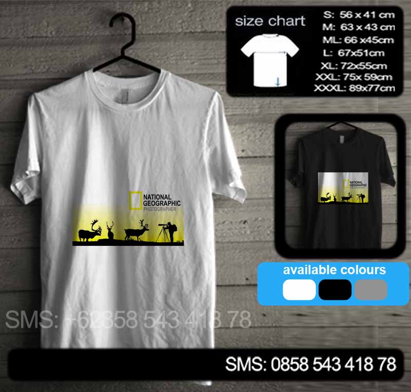baju kaos national geographicnatgeo16