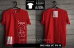 Pre Order Kaos Jkt4801 merah