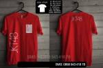 Pre Order Kaos Jkt4802 Merah