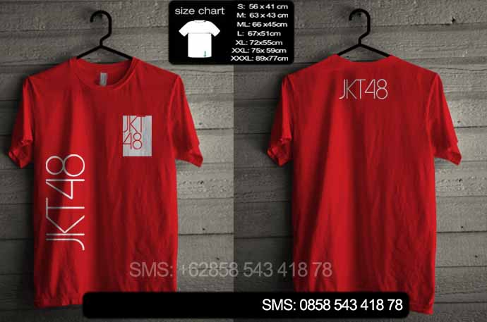 pre order kaos jkt48 02