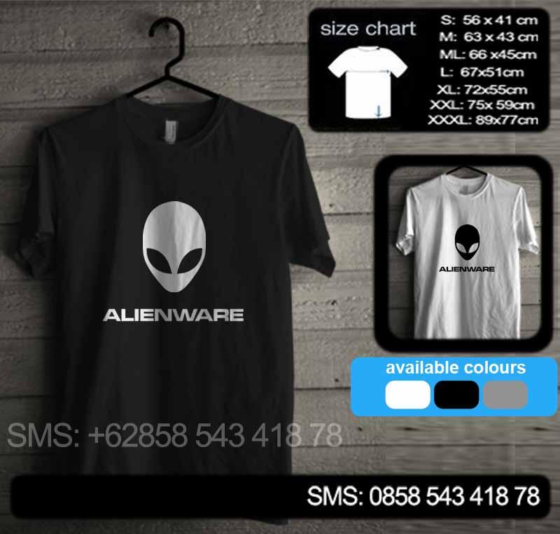 baju kaos alienware 02