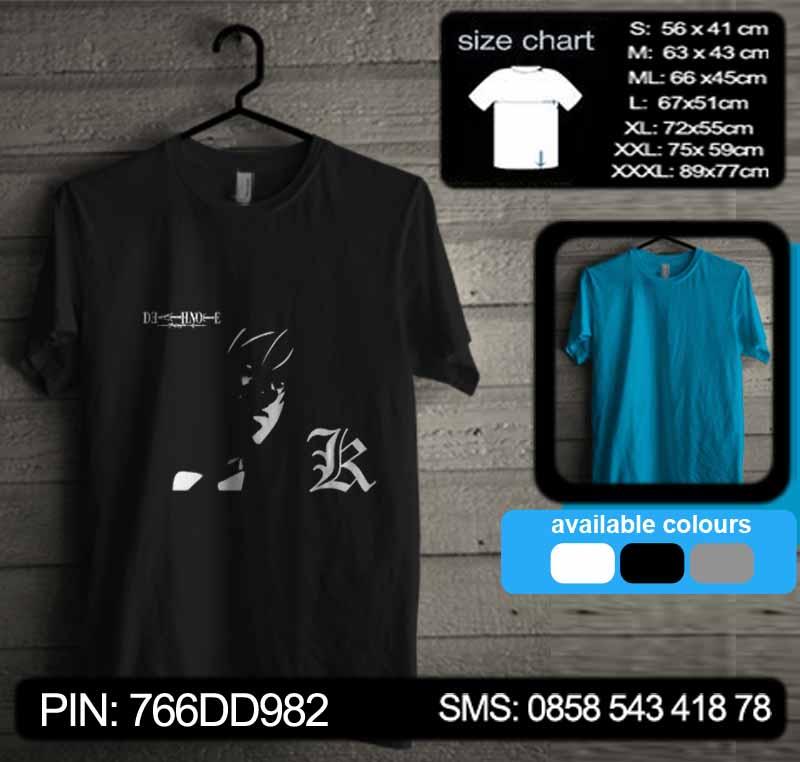Death Note Tshirt Kode dn17