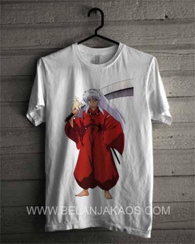 baju kaos Inuyasha-IN04