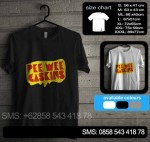 Baju Kaos Pee Wee Gaskins pwg04