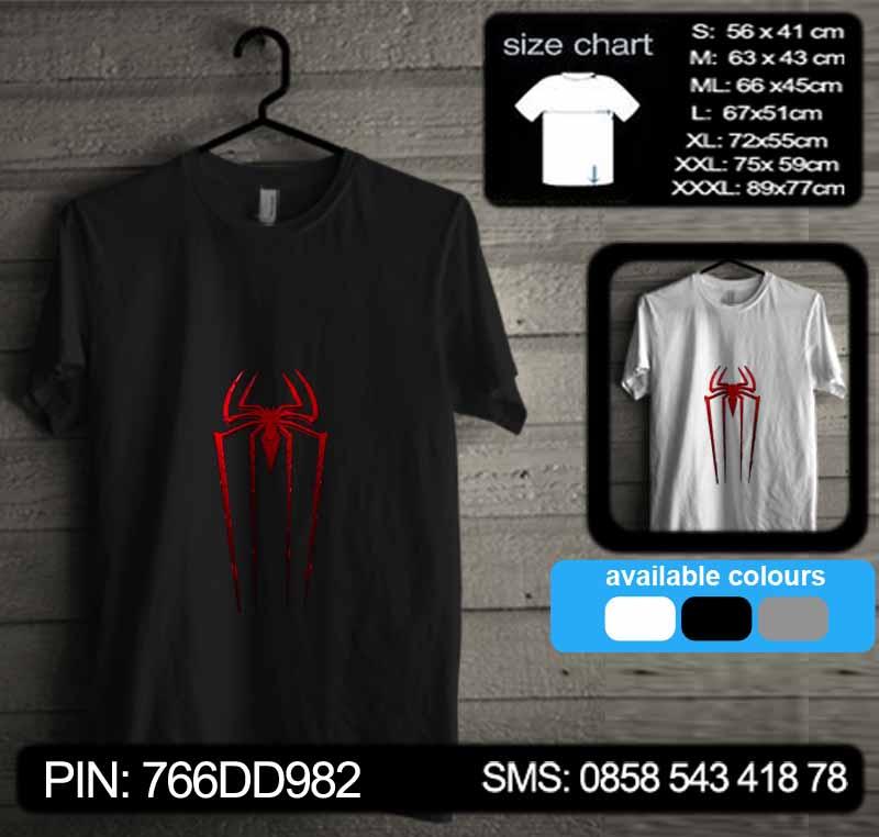 baju kaos the amazing spiderman 01