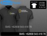 Polo Shirt National Geographic bordirnatgeo01