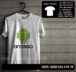 Baju Kaos Android 02