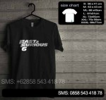 Baju Kaos Fast & Furious 01