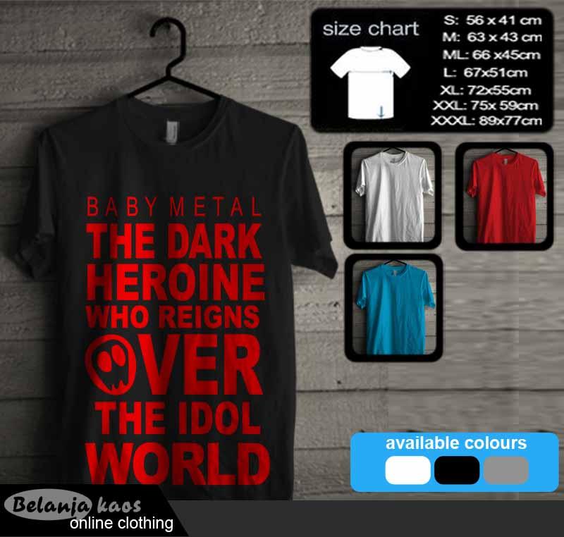 Kaos Baby Metal T-Shirt 03