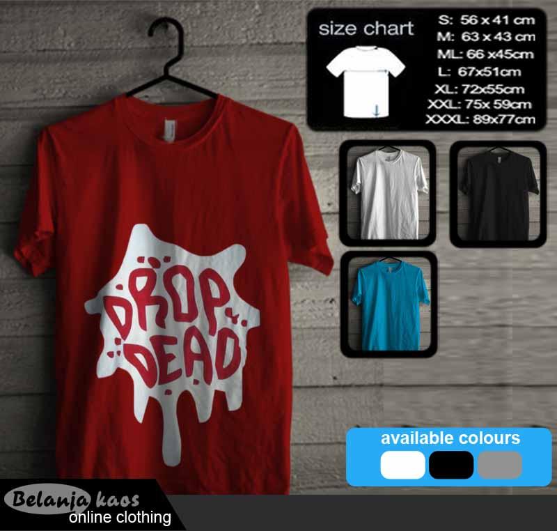 Kaos Drop Dead 01