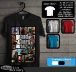 Fullprint Tshirt Grand Theft Auto gta115