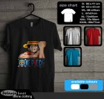 Tshirt Luffy One Piece on77