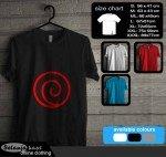 Tshirt Clan Uzumaki Kode nr57