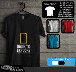 Tshirt National Geographic Dare To Explore 18
