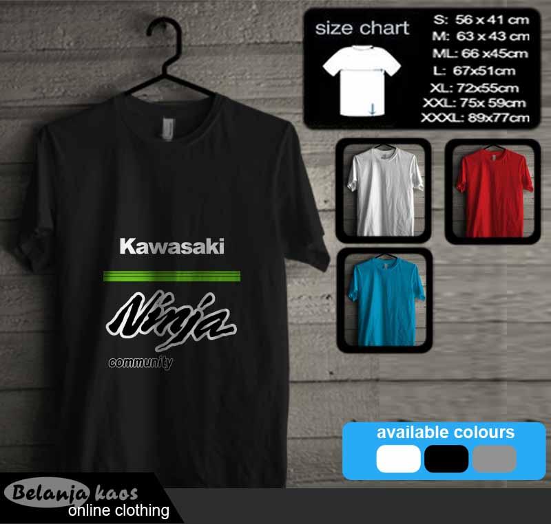 Tshirt Kawasaki Ninja 32