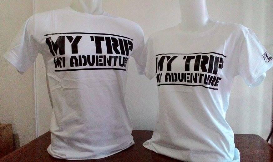 Kaos Couple MY TRIP MY ADVENTURE