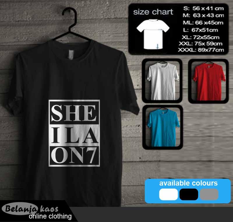 Tees Sheila On 7 Sheila Gank Kode Sheila07