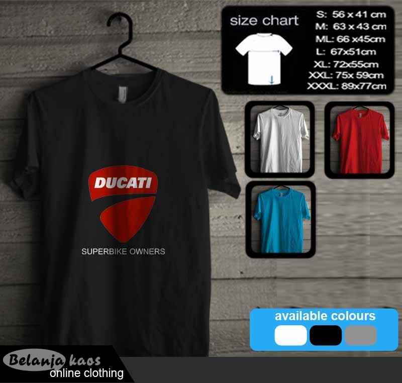 Kaos Ducati Superbike Owners Kode Ducati05