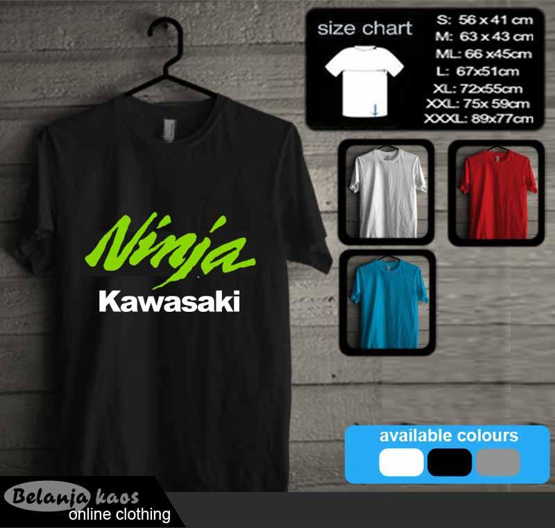 Kaos Kawasaki Ninja Kode Ninja45