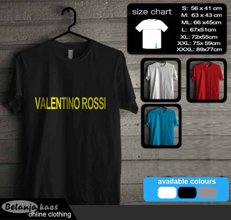 Kaos Valentino Rossi The Doctor Vr4608