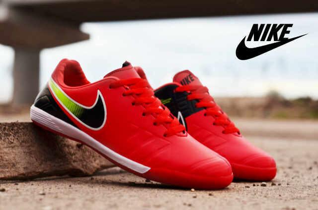 Jual Sepatu Futsal Nike Import Merah