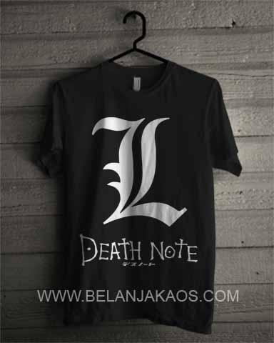 baju kaos Death note DN03