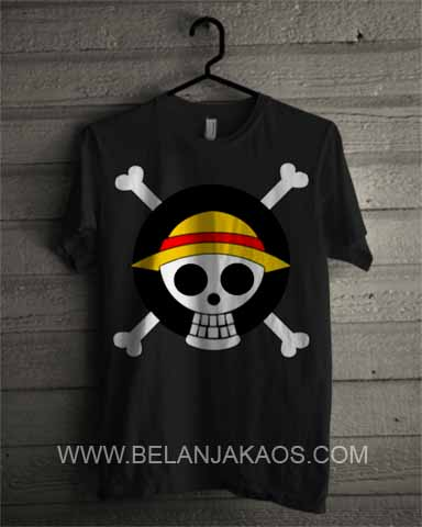 baju kaos one piece
