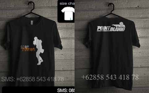 baju kaos point blank pbd02