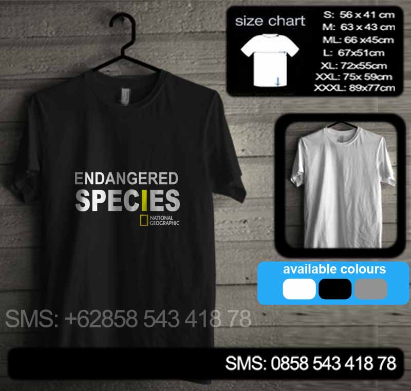 baju kaos national geographic endangered species natgeo06