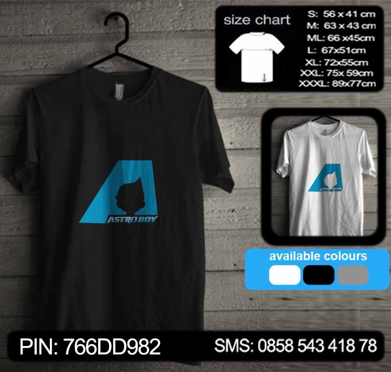 kaos astro boy 07 tshirt