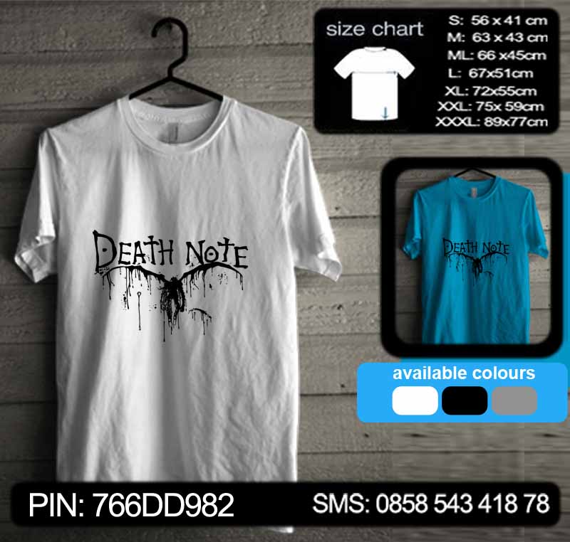 Death Note Tshirt Kode dn16