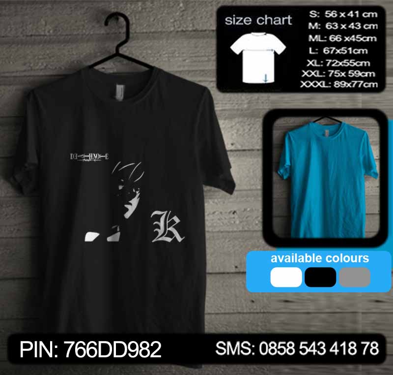 Death Note Tshirt Kode dn17