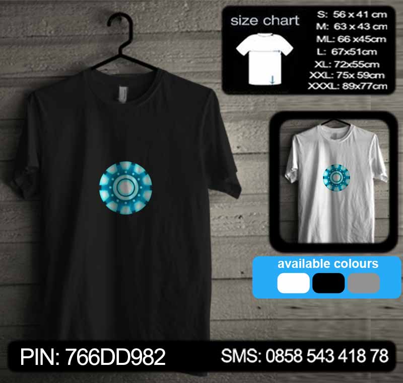 baju kaos iron man 06