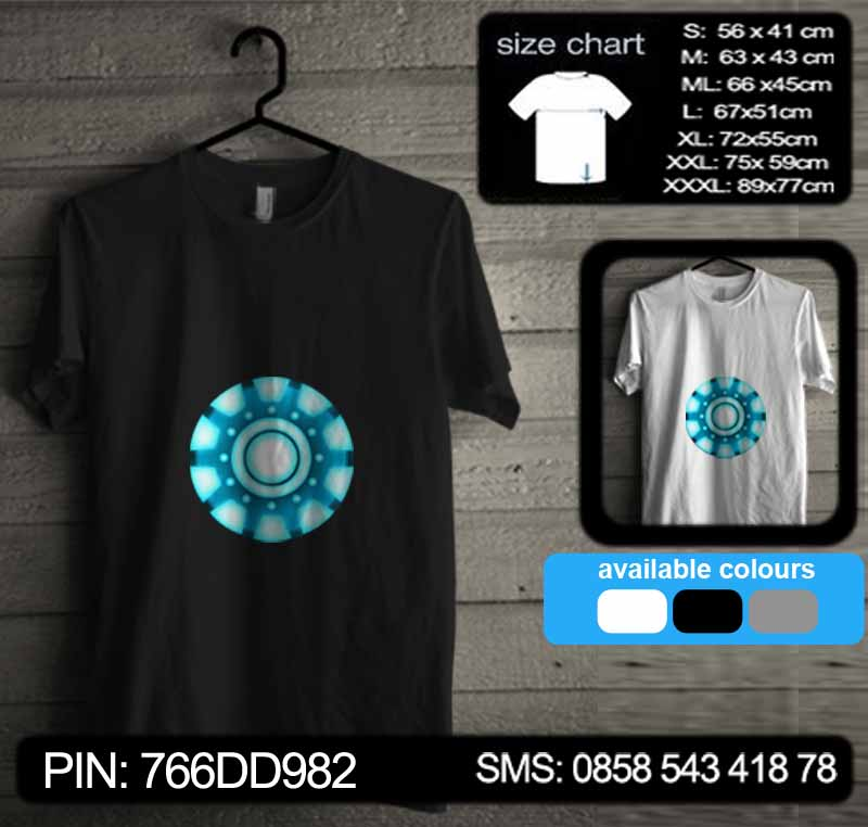 baju kaos iron man 07