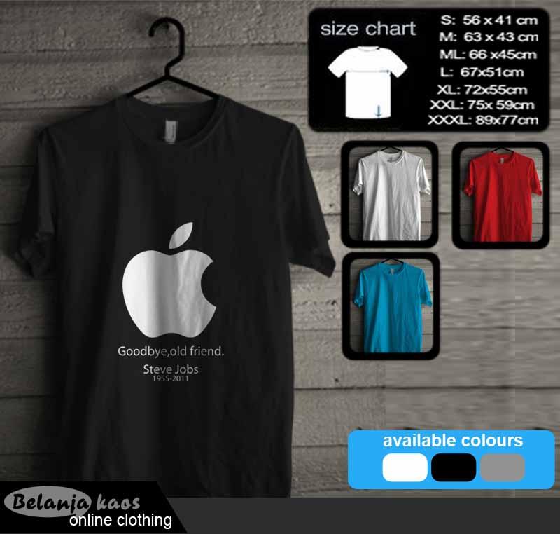 Kaos Apple Steve Jobs 02
