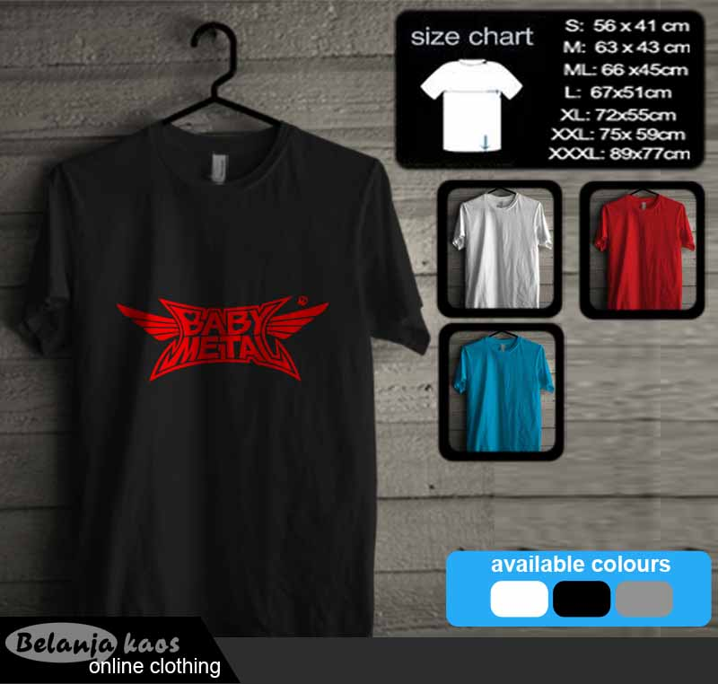 Kaos Baby Metal T-Shirt 04