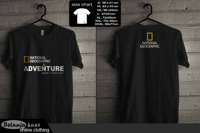 tshirt national geographic adventure