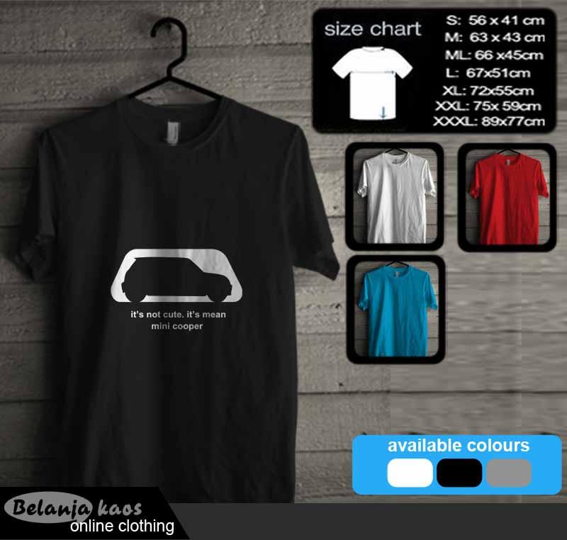 Tshirt Mini Cooper 01