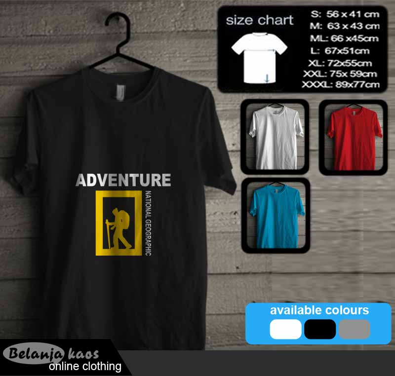 tshirt national geographic adventure 19