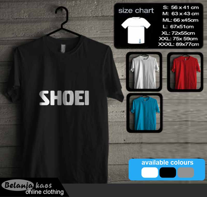 Tshirt shoei 01