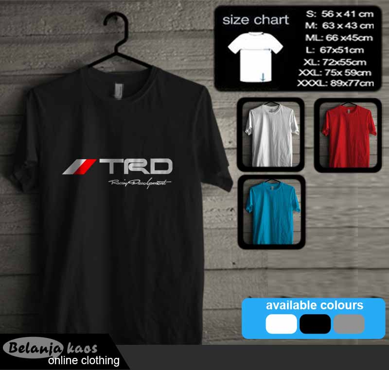 Tshirt TRD Racing Development 02
