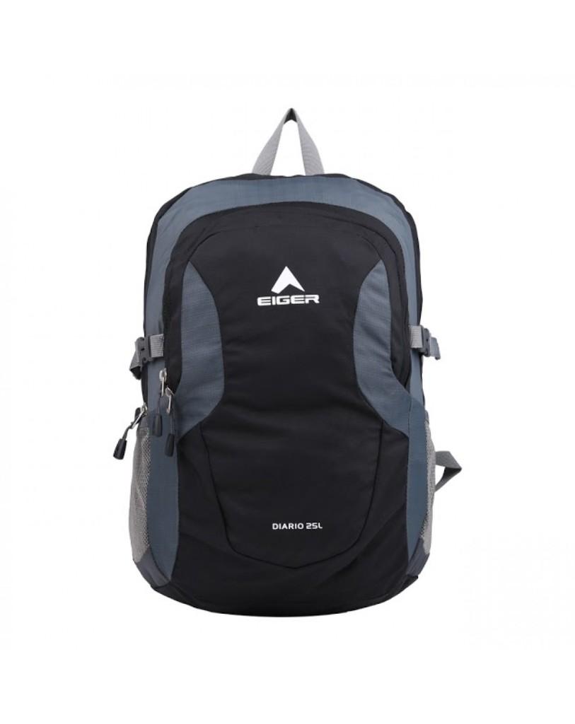 Jual Tas Eiger Daypack Laptop Diario - Black