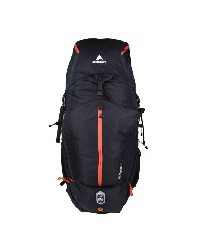 Jual Tas Eiger Excelsior 75+15L Borneo - Black Orange ...