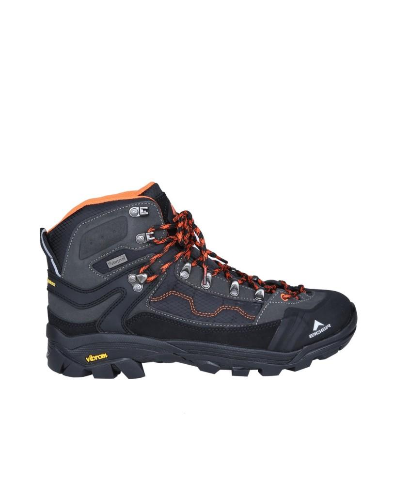Jual Sepatu Eiger Shoes Boot Pollock - Black