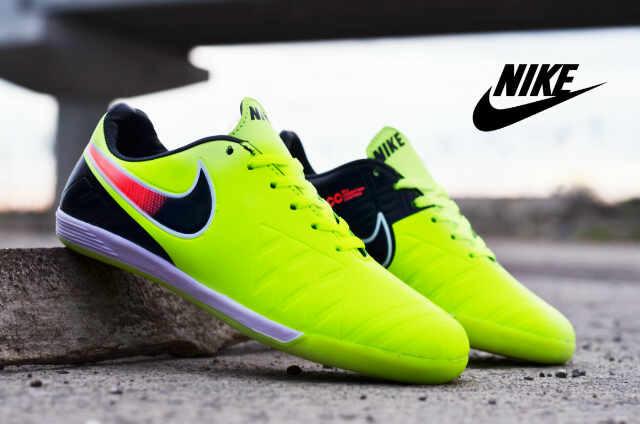 Jual Sepatu Futsal Nike Import Hijau
